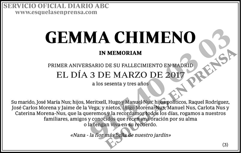 Gemma Chimeno